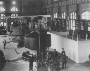 Westinghouse Generators at the Edward Dean Power House